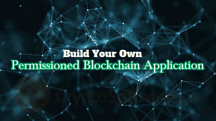 Permissioned Blockchain Application