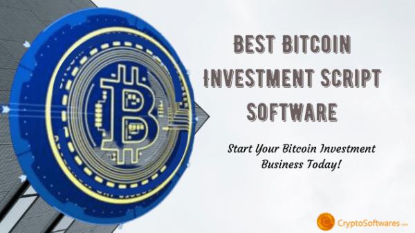 Bitcoin Investment Platform Script